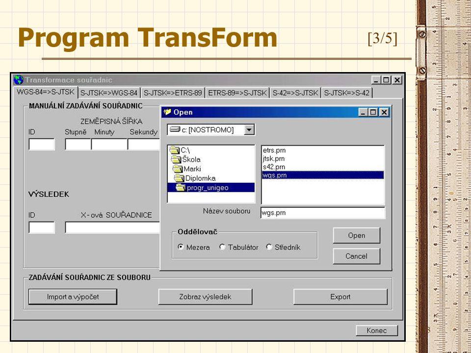 Program TransForm [3/5]